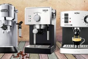 Mejores cafeteras express manuales.